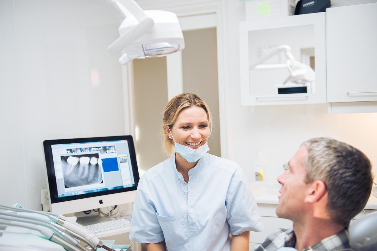 Tannpleier og pasient
