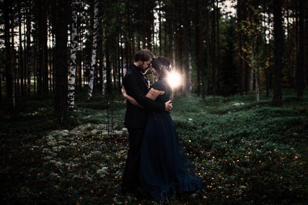 Bryllupsfotografering på Koppang