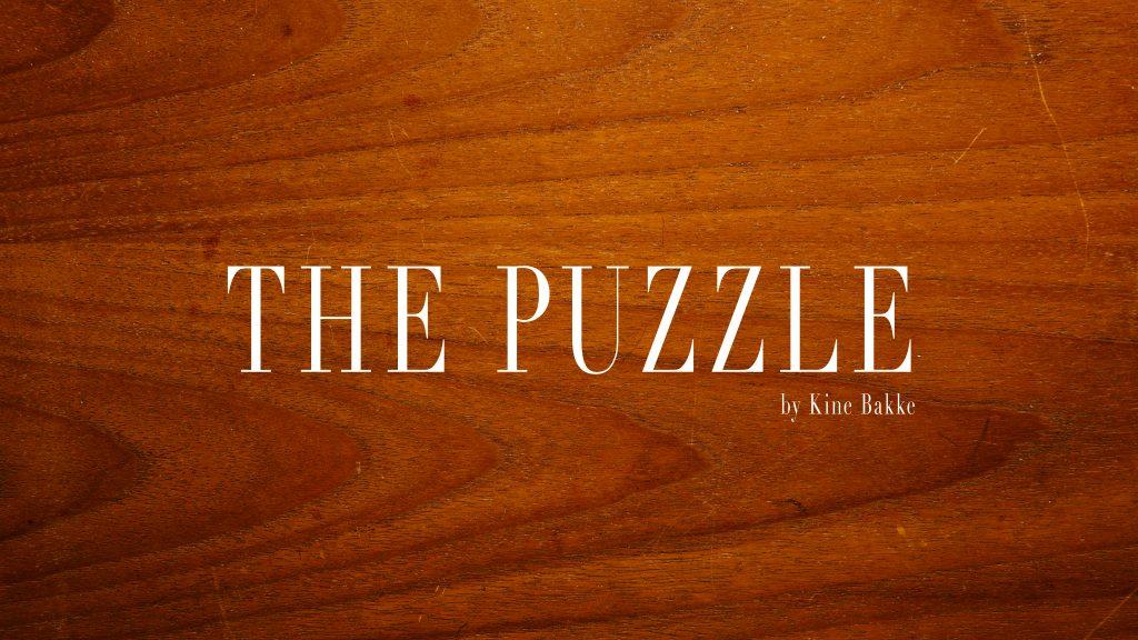 Frontbilde til videoen The Puzzle av Fotograf Kine Bakke
